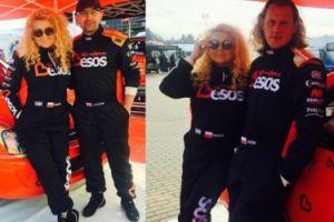 Magda Gessler reklamuje parówki w samochodzie rajdowym (FOTO)