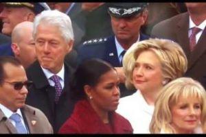 Bill Clinton przyłapany na wpatrywaniu się w Ivankę Trump