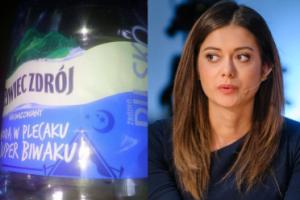 """Miriam Shaded bojkotuje wodę mineralną. Twierdzi, że na butelce widnieje... SYMBOL ISLAMU. """"Francuskie koncerny chcą się przypodobać wyznawcom Allaha"""""""