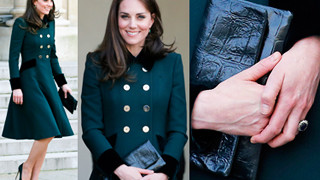 Księżna Kate w Paryżu z torebką POLSKIEJ MARKI! (ZDJĘCIA)