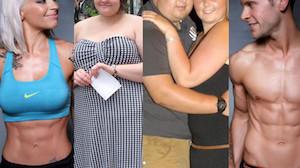 Największe metamorfozy: przed i po odchudzaniu (ZDJĘCIA)