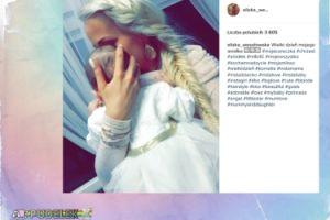 Eliza Wesołowska gotowa na chrzest córki