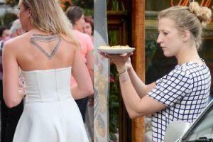 """Lara Gessler: """"Ten tatuaż to historia rodzinna. Nóż i widelec są z kompletu"""""""