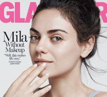 Naturalna Mila Kunis na okładce