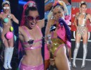 PRAWIE NAGA Miley Cyrus na MTV Video Music Awards... (ZDJĘCIA)