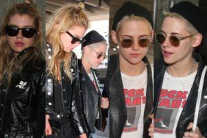 Kristen Stewart trzyma swoją dziewczynę za rękę na lotnisku. Poznajecie? (ZDJĘCIA)