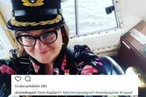 """Dominika Gwit na """"Papieskim Statku"""""""
