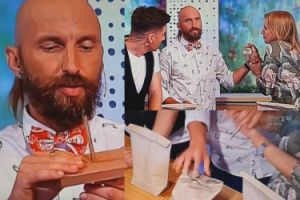 """""""Gwóźdź programu"""" w """"Pytaniu na śniadanie"""": Iluzjonista przebił rękę Marzeny Rogalskiej!"""
