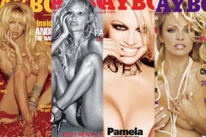 """Pamela Anderson na okładce ostatniego rozbieranego """"Playboya""""! (ZDJĘCIA)"""