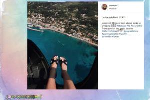 Jessica Mercedes pokazała stopy na tle Monako