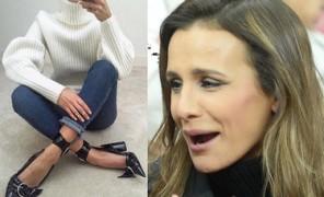 Sara Boruc chwali się nowymi butami Diora... Ładne? (FOTO)