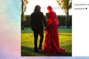 Agnieszka Szulim wspomina ślub