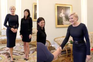 Pierwsza Dama spotkała się z Anną Lewandowską (FOTO)