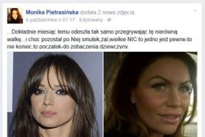 """Pietrasińska o siostrze: """"Odeszła miesiąc temu. Przegrała nierówną walkę"""""""