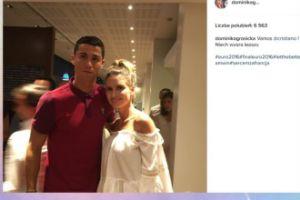Dominika Grosicka też ma fotkę z Ronaldo