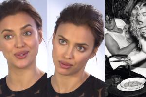 """Irina Shayk: """"Mam obsesję na punkcie żucia gumy"""""""