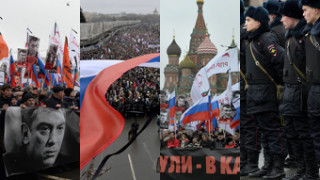 Tłumy Rosjan żegnają Borisa Niemcowa! (DUŻO ZDJĘĆ)