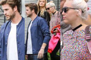 Miley Cyrus i Liam na randce w Hollywood! (ZDJĘCIA)
