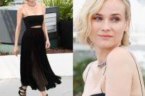 40-letnia Diane Kruger chwali się brzuchem w Cannes