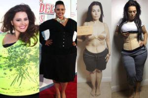 """Była modelka XXL pokazuje odchudzone ciało: """"Nauczyłam się kochać obwisłą skórę"""" (FOTO)"""