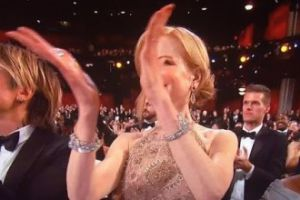 Tak Nicole Kidman oklaskiwała zwycięzców. Czy to PŁETWY?
