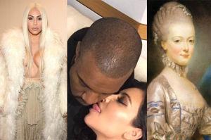 """Kanye o Kim: """"Ona jest współczesną Marią Antoniną. Nową ikoną"""""""