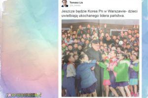 """Lis zapowiada: """"Jeszcze będzie Korea Północna w Warszawie"""""""