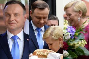 """Andrzej Duda z żoną Agatą na """"Spotkaniu z Błogosławionym"""" (ZDJĘCIA)"""
