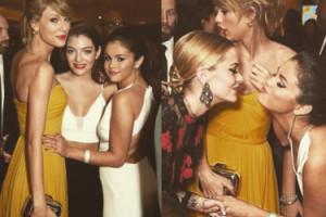 Tak Selena Gomez bawiła się na Złotych Globach