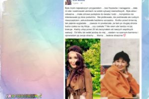 Ewa Minge wspomina zmarłą matkę