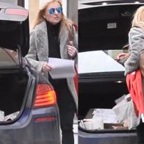 Tak wygląda bagażnik samochodu Moniki Olejnik...