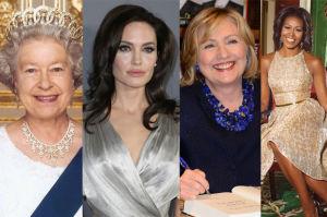Jolie wybrana Najbardziej Podziwianą Kobietą na świecie!