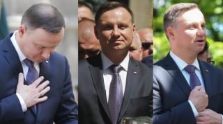 Poważny Andrzej Duda na Pielgrzymce Mężczyzn w Piekarach Śląskich (ZDJĘCIA)