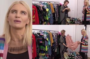 """Horodyńska pokazuje szafę w """"Dzień Dobry TVN"""". """"Nie wymyśliłam sobie stylu na potrzeby show biznesu"""""""