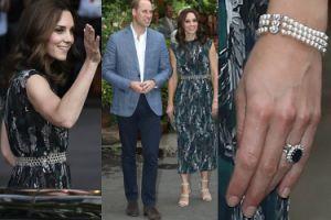 Kate Middleton z bransoletką księżnej Diany na przyjęciu w Berlinie (ZDJĘCIA)