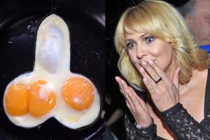 Wachowicz smaży jajka... w kształcie penisa!