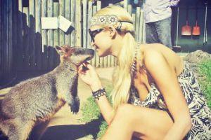 Paris Hilton w Australii (FOTO)
