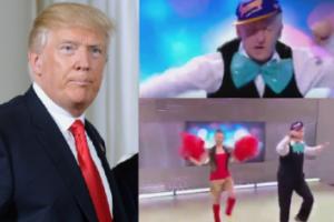 """Andrzej Rosiewicz """"zaśpiewał"""" dla Trumpa w TVP... """"Chciałem być głośnym obciachem i udało się"""""""