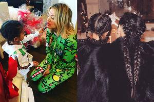 Kardashianki chwalą się dziećmi (FOTO)