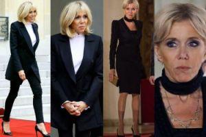 64-letnia Brigitte Macron w dwóch eleganckich stylizacjach. Która lepsza? (ZDJĘCIA)