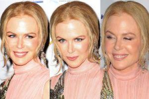 Błyszcząca, gładka twarz Nicole Kidman (ZDJĘCIA)