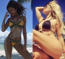 Gwiazdy chwalą się zdjęciami w bikini. Która najseksowniejsza?