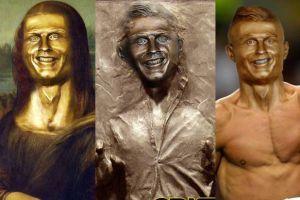 Internauci wyśmiewają nową rzeźbę z Ronaldo (GALERIA)