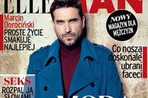 "Dorociński na okładce nowego magazynu ""Elle Man"""
