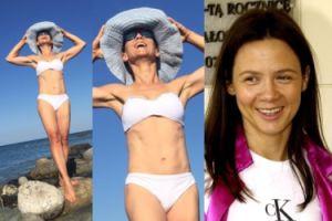 """Kinga Rusin pozuje w bikini: """"15 lat temu wstydziłam się pokazać w kostiumie!"""""""