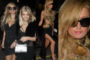 Paris Hilton idzie do klubu z Sofią Richie (ZDJĘCIA)