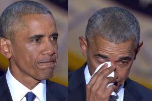 """Wzruszony Obama dziękuje żonie: """"Młode pokolenie ma ciebie za wzór!"""""""