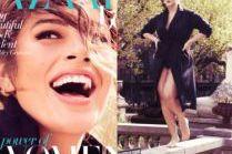 "Ashley Graham na okładce ""Harper's Bazaar"""