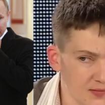 """Sawczenko: """"PUTIN TO GNIDA. Znacie jego pseudonim - Putin ch**"""""""