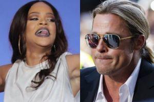 """""""Star Magazine"""": """"Rihanna od lat wzdychała do Brada""""..."""